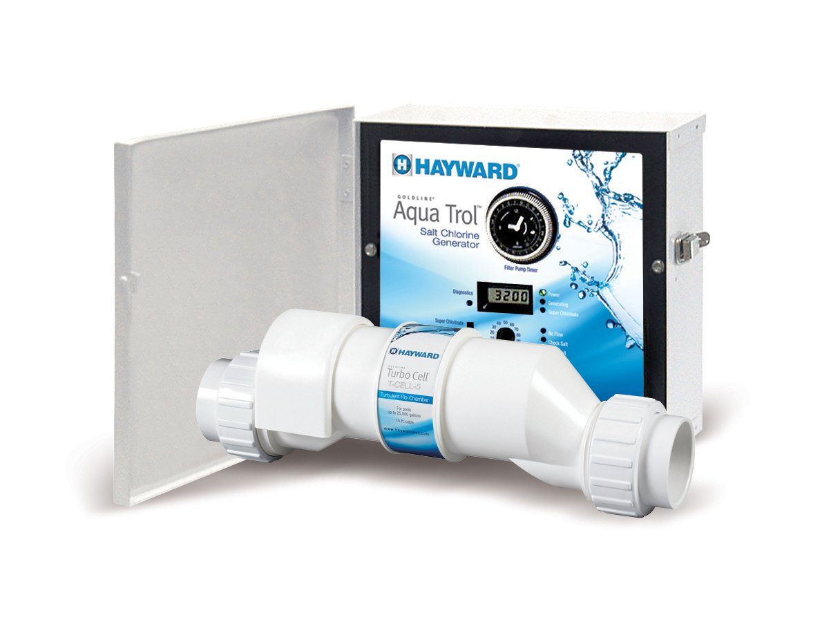Hayward AQ-TROL-RJ AquaTrol Salt Chlorination System for Above-Ground Pools up to 18,000 gallons