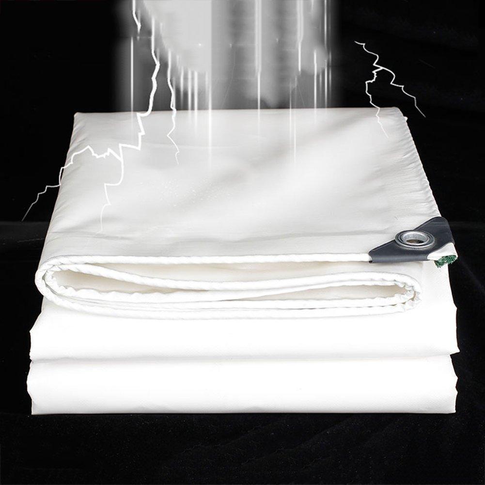 GLJ Starkes Starkes Starkes Weißes Messerabkratztuch Im Freien Sonneschutzregenstoff Wasserdichte Planeplanenisolierung Oxford-Segeltuch-Sonnenschutzüberdachung Plane (Farbe   Weiß, größe   2x3m) B07GPPRVZH Zeltplanen Macht das Leben 4e7d83