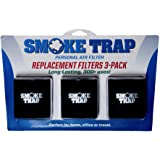 Smoke Trap 2.0 - Replacement Cartridges for Personal Air Filter - 3 Pack