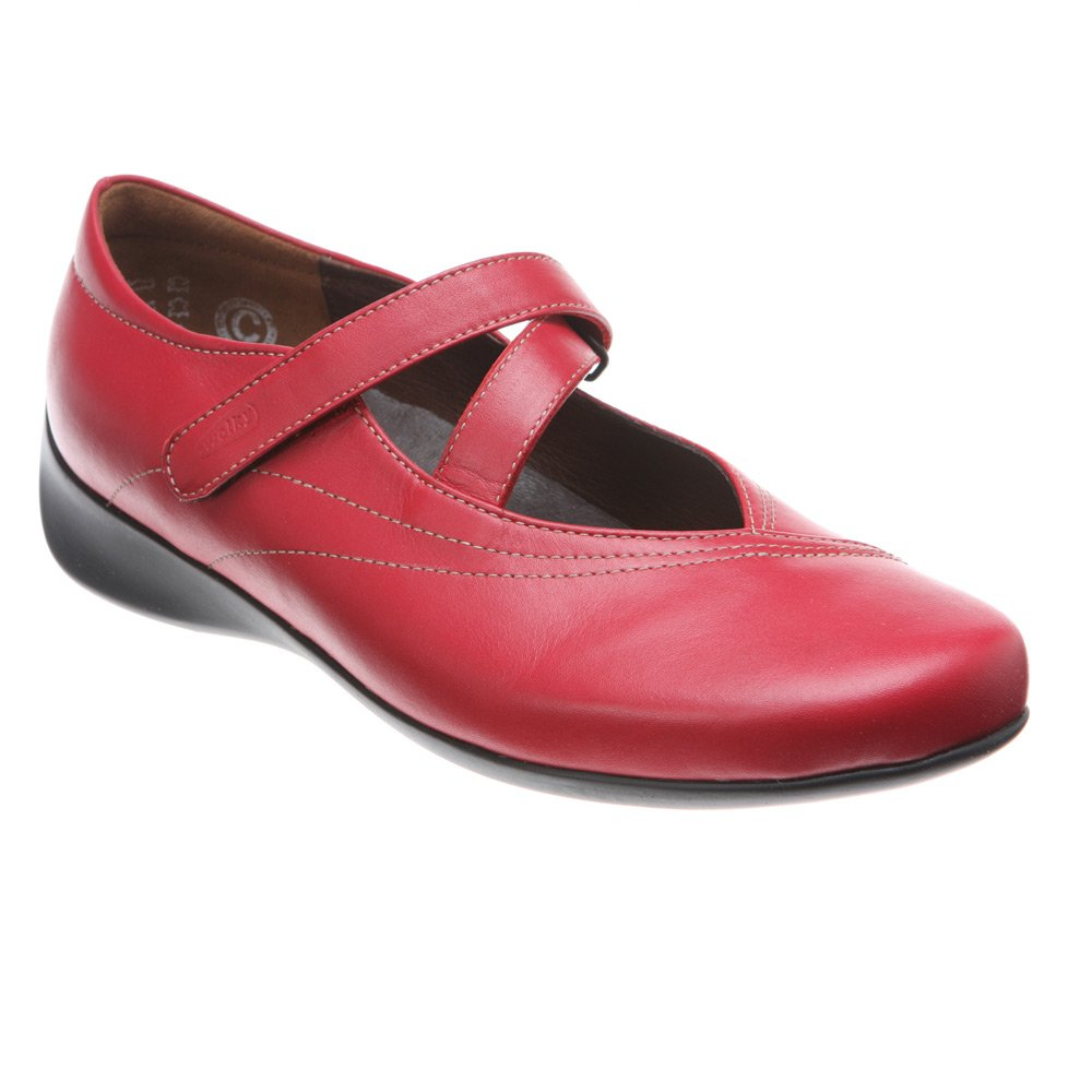Wolky Comfort Mary Janes Silky B002E1GGYM 42 M EU|Red