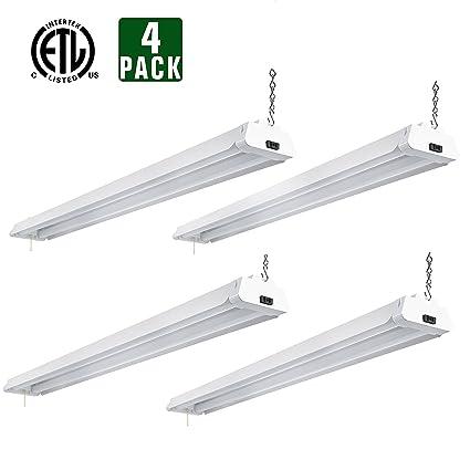 Hykolity 4ft 42 watt led shop light garage workbench ceiling lamp hykolity 4ft 42 watt led shop light garage workbench ceiling lamp 5000k daylight white 3700 lumens aloadofball Gallery