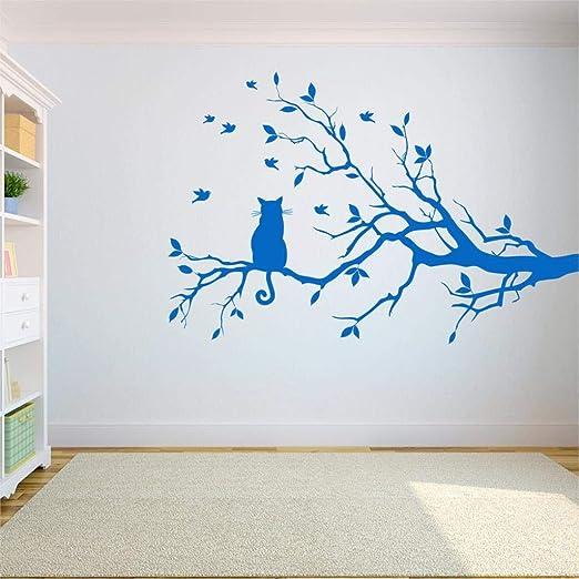 GUUTOP Etiqueta de la Pared del árbol Etiqueta Dormitorio ...