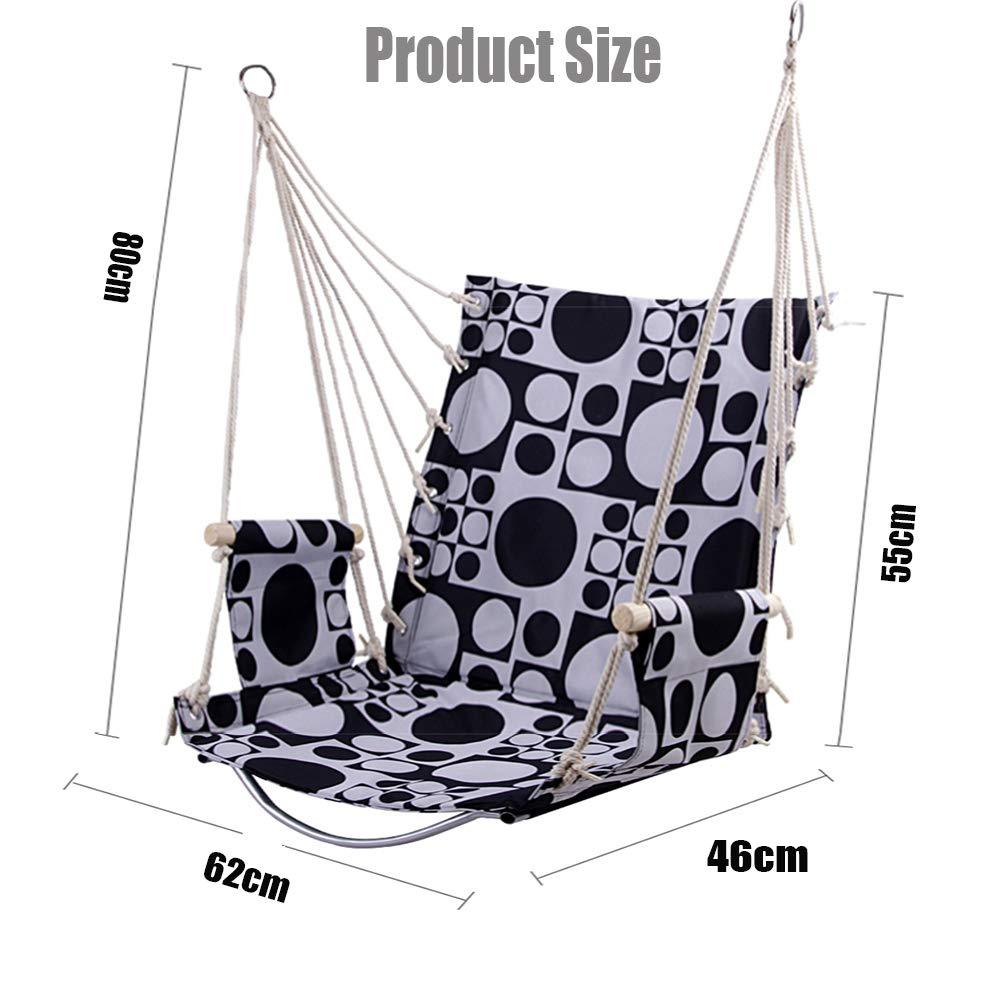Amazon Com Hammock Chair Hanging Rope Swing Children S Adult