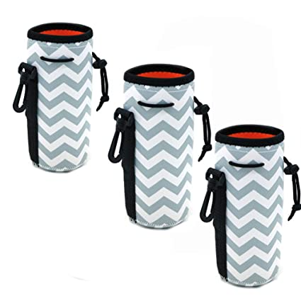 32948f591432 Af-Wan Water Bottle Cooler Carrier for 22 oz Long Neck Water Bottle or Tall  Beer Bottles,Protable Neoprene Insulated Water Drink Bottle Cover Sleeve ...