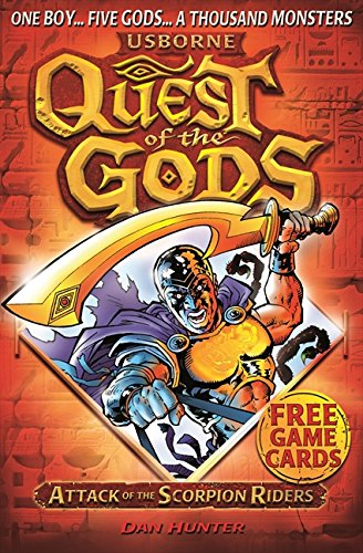 Quest of the Gods Book 1: Attack of the Scorpion Riders pdf