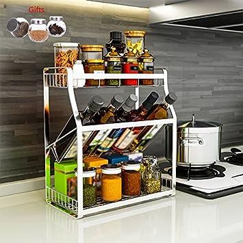 Amazon.de: Küchenmöbel-WXP Haushalt Küche Lagerung Arbeitsplatte ...