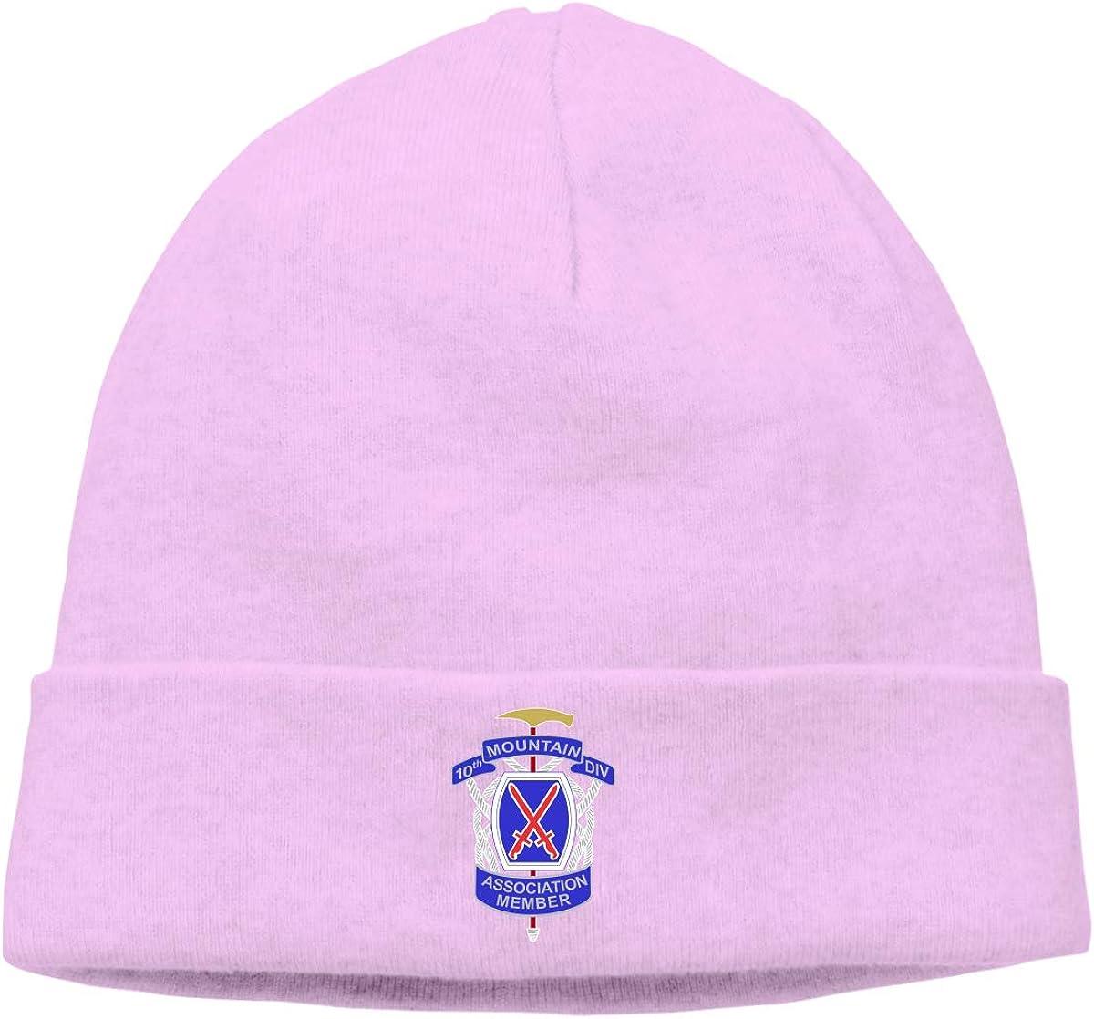 Lapptty Cap 10th Mountain Division Men Women Beanie Hat Knitted Beanie Knit Beanie