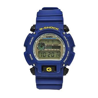 1722cf8e0a2a Amazon.com: Casio Men's DW9052-2 G-Shock Blue Rubber Digital Dial ...