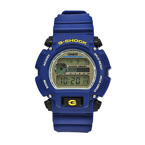 9e47320ba11f Buy Casio Men s DW9052-2 G-Shock Blue Rubber Digital Dial Watch Online at  Low Prices in India - Amazon.in