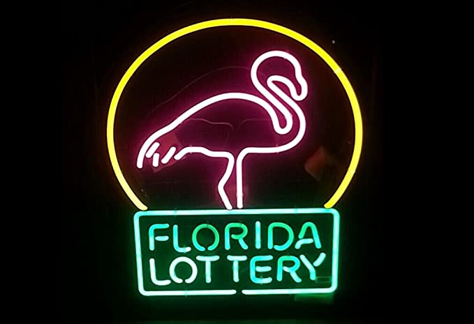 Florida Lottery Flamingo Beer Bar Pub Store Party Room Wall