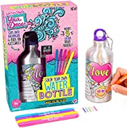 Your Décor Color Your Own Water Bottle by Horizon Group USA, DIY Bottle Coloring Craft Kit, BPA Free, Markers