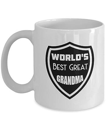 amazon com world s best grandma coffee mug world s best great