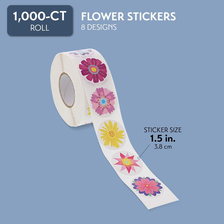 1,5 cm Stickers pour loisirs cr/éatifs et loisirs cr/éatifs 8 motifs Bright Creations