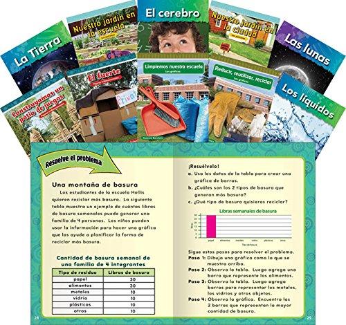 Twos Teacher Pack - STEM Grade 2: 10-Book Spanish Set (Teacher Created Materials Library) (Spanish Edition)