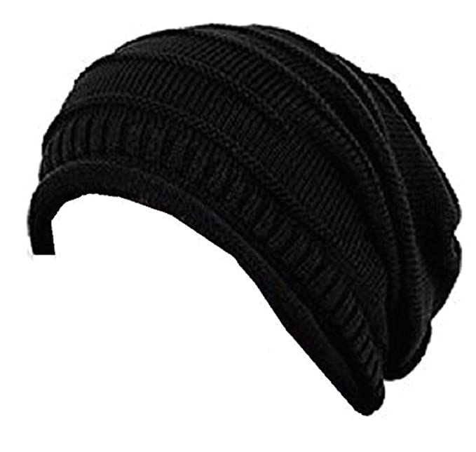 ae6263ac473 Image Unavailable. Image not available for. Colour  Zacharias Unisex Woolen  Beanie Cap Black