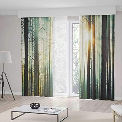 Amazon.com: YOLIYANA Blackout Curtains Country,Living Room ...