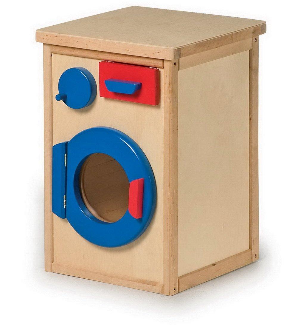 Kinder Waschmaschine aus Holz - Legler Waschmaschine aus Holz