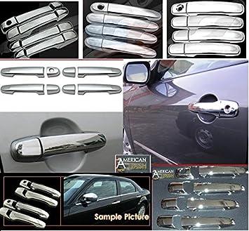 Amazon Com Gmc Yukon Denali Exterior Chrome Door Handles Handle Trim Set 2007 2008 2009 Automotive