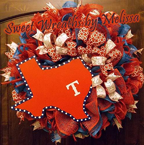 Texas Rangers Wreath Rangers Wreath