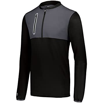 8b10d4e10df18b Amazon.com  Holloway Sportswear Men s Weld Hybrid Pullover 2XL White ...