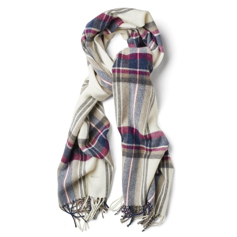 GANT Tartan Lammwolle Damen Schal