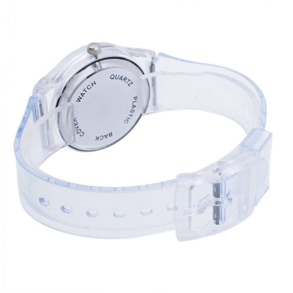 JiaMeng Reloj Analógico Automático para niño con Correa de Acero Inoxidable Relojes (A): Amazon.es: Ropa y accesorios