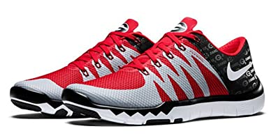 on sale 48844 92572 Amazon.com: Nike Free Trainer 5.0 V6 Amp 'Ohio State ...