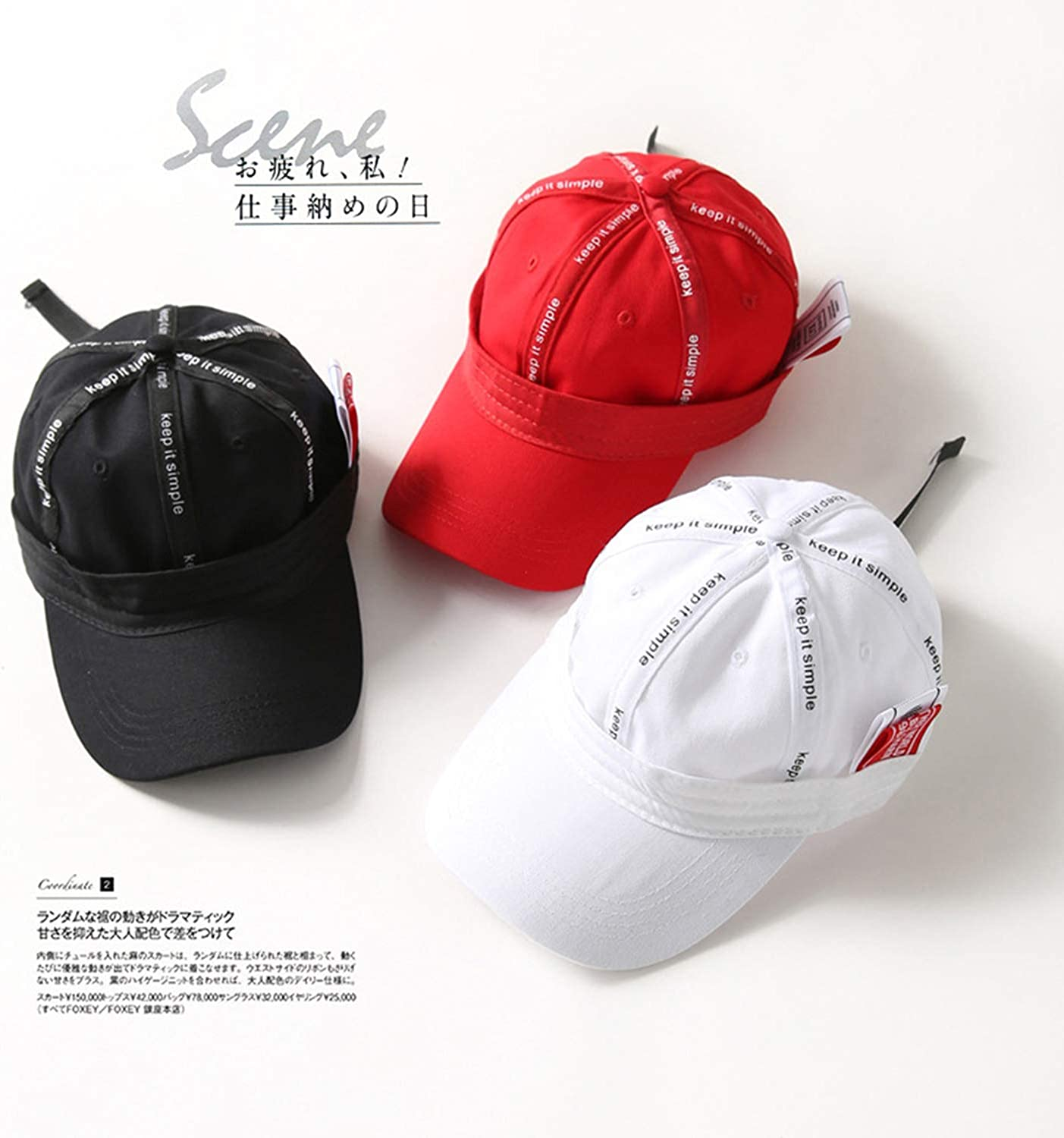 Minusone Fashion Reverse Design Hip Hop Hat Cotton Red White Baseball Cap Funny Caps Summer Dad Hats