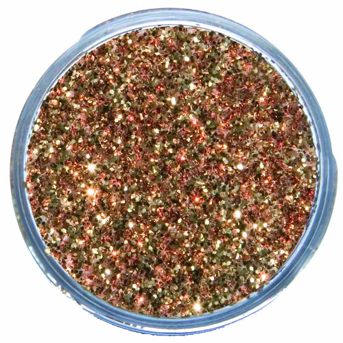 Snazaroo Face and Body Paint, 12ml, Glitter Dust, Red Gold ()