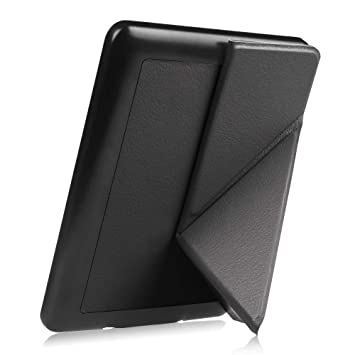 separation shoes c8b0f c2824 Fintie Origami Case for Kindle Paperwhite - Fits All Paperwhite Generations  Prior to 2018 (Not Fit All-New Paperwhite 10th Gen), Black
