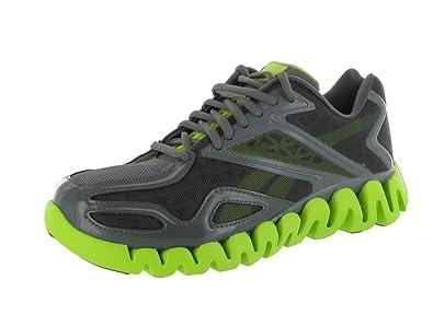 ... promo code reebok zig sonic running sneakers mesh shark kiwi green  womens v65370 c46c5 1ae16 4730df039