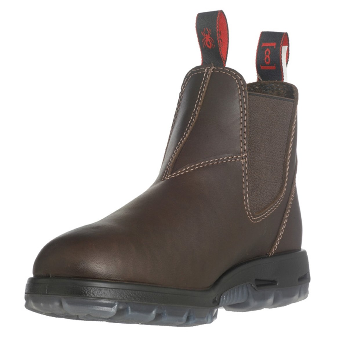 RedbacK Work Boots UNPU Great Barrier Water Resistant Puma Brown Leather US 9 (UK 8) by RedbacK