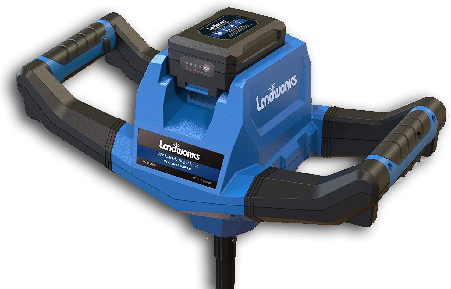 Landworks Earth-Ice Auger Power Head Heavy Duty Eco-Friendly