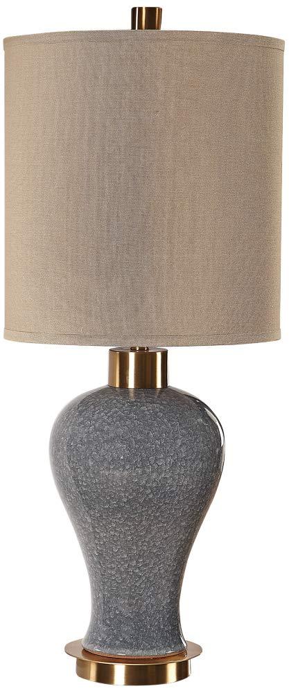 Uttermost Cailida Blue Gray Glaze Ceramic Table Lamp Amazon Com