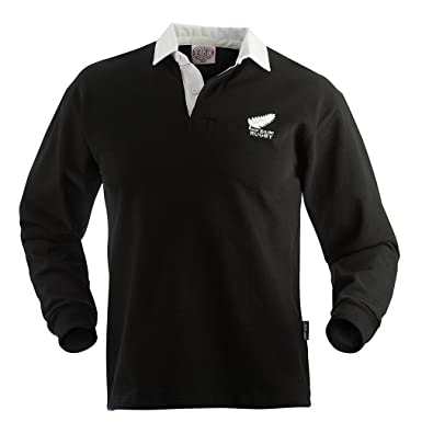 85a8b04d4ee44 New Zealand Old Style Rugby Jersey