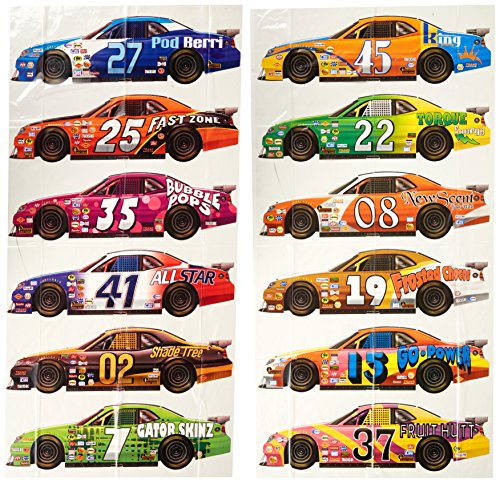 Race Car Props Party Accessory (1 count) (Nascar Race Packages)