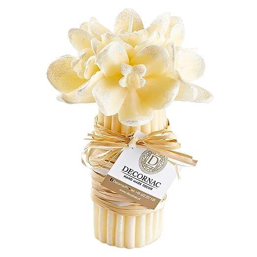 Ramo grande de flores de orquídea de rosas ♥ Vela aromática ...