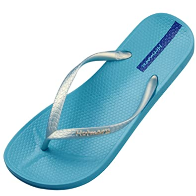 32504ca309e5 Hotmarzz Women s Slim Flip Flops Summer Sandals Beach Slippers Shower Shoes  Size 4 B(M