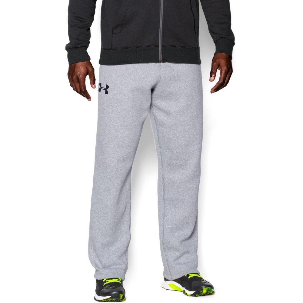 Under Armour Men's UA Rival Cotton Pant, True Gray