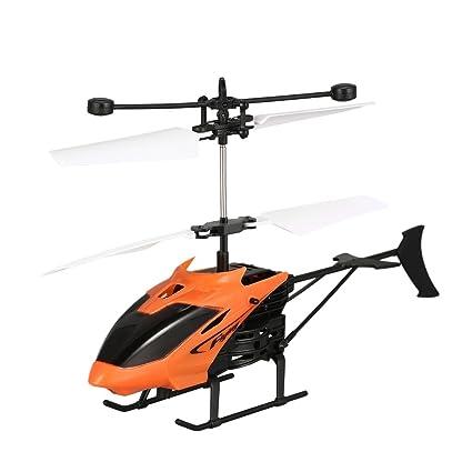 Footprintse D715 Flying Mini inducción infrarroja RC helicóptero ...