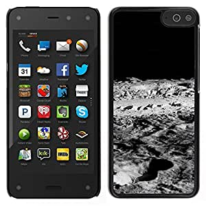 LECELL--Funda protectora / Cubierta / Piel For Amazon Fire Phone -- Luna Lunar Surface --