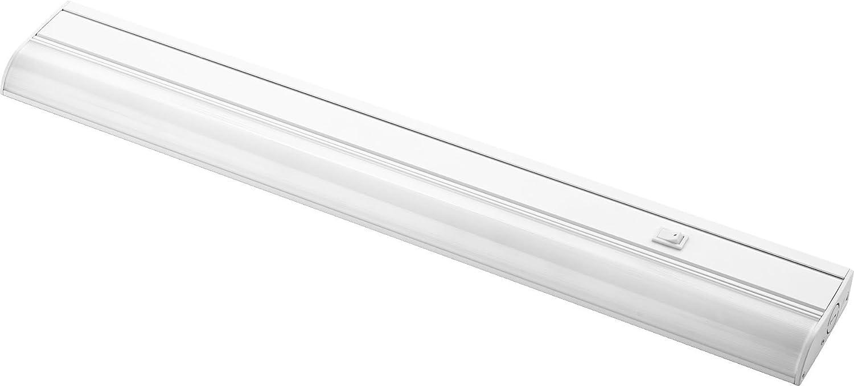 定足数照明93324 – 6、キャビネット下24インチLED下キャビネット照明LED、ホワイト B01FIHPL44