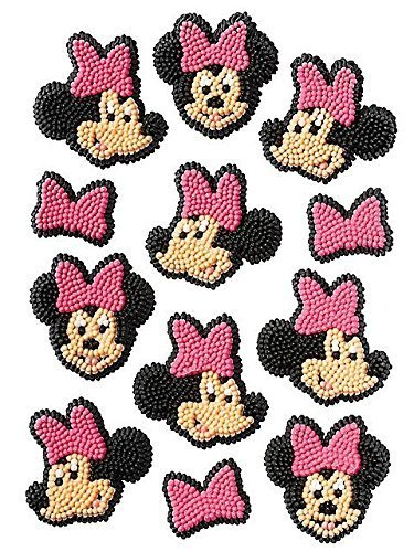 Minnie Mouse Cake Edible Icing Decorations