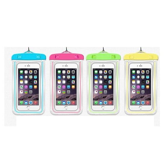 buy popular df8b5 01588 Amazon.com: Luminous Waterproof Bag Drifting Sports Essential Mobile ...