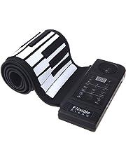 Ammoon 61 Touche Clavier de Piano Électronique Silicone Souple Pneu Haut Fonction Continue Piano avec Haut-Parleur USB