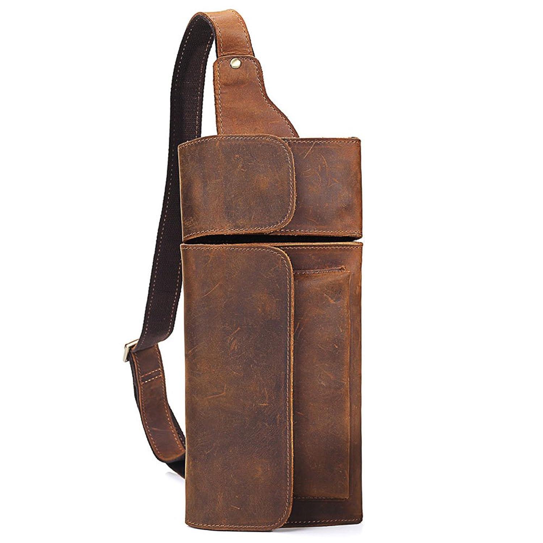 本革 牛革 レザー メンズバック斜めがけ ボディバッグ カジュアル シンプル かばんカバン鞄 B078T5255R