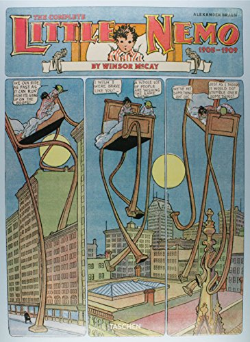 Winsor McCay. The Complete Little Nemo 1905-1909