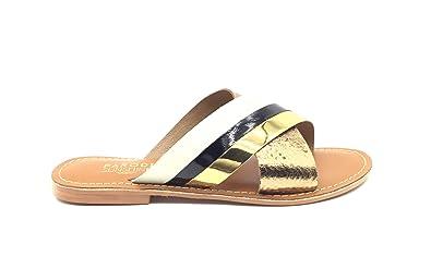 more photos pretty cool reasonable price Parodi Sunshine - Sandalias de Piel de Color Bronce.: Amazon ...