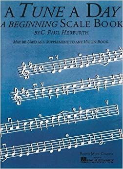 A Tune a Day - Violin: Beginning Scales (Music Sales America) by C. Paul Herfurth (2003-07-01)