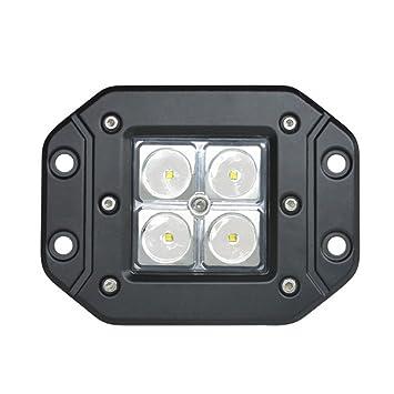 Iluminación LED Retroadaptable, Luz LED De Trabajo, Luz Antiniebla LED, Foco LED Para Exteriores: Amazon.es: Deportes y aire libre